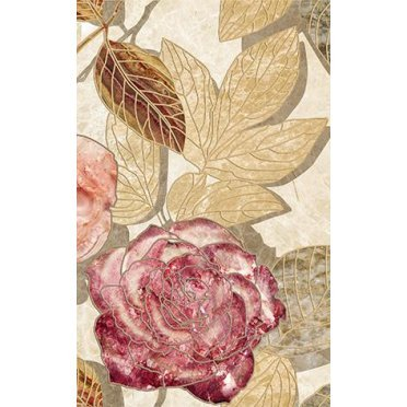 Керамическая плитка Illyria flowers-2 Декор 25x40