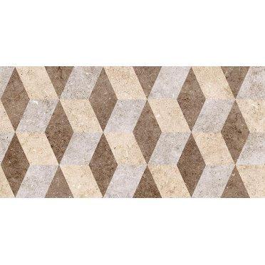 Болонья 1 тип 2 Плитка настенная декор геометрия 30х60