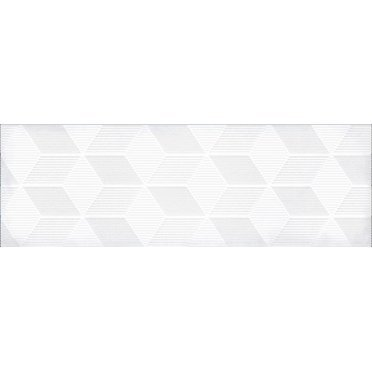 Парижанка Декор Гексагон белый 1664-0184 20х60