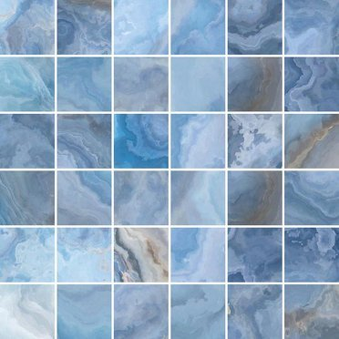 Blues Мозаика голубой 30х30
