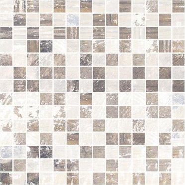 Extra Мозаика коричневый+бежевый 30х30
