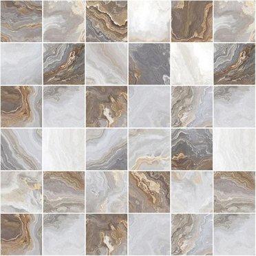 Goldy Мозаика серый 30х30