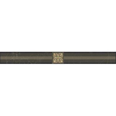 Royal Бордюр чёрный 6,3х60