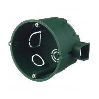 Подрозетник Schneider Electric для бетона d68х46 мм 8 вводов зеленый IP30 наборная