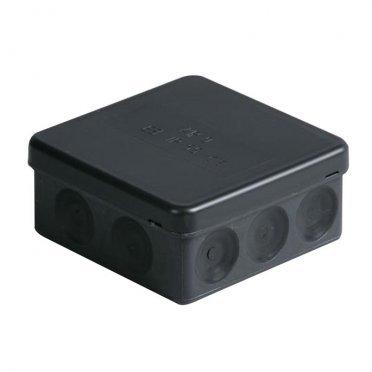 Коробка разветвительная АВВ 86х86х39 мм 12 вводов IP65 непрозрачная крышка безгалогенная