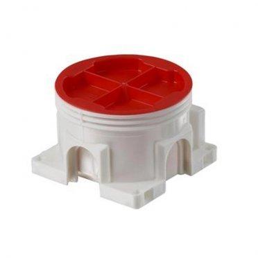 Коробка распределительная АВВ d71х47 мм 5 вводов IP44 непрозрачная крышка безгалогенная