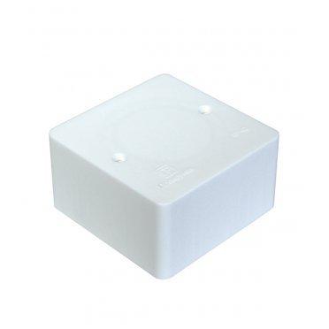 Коробка распределительная Промрукав для кабель-каналов 80х80х40 мм белая IP42 универсальная безгалогенная