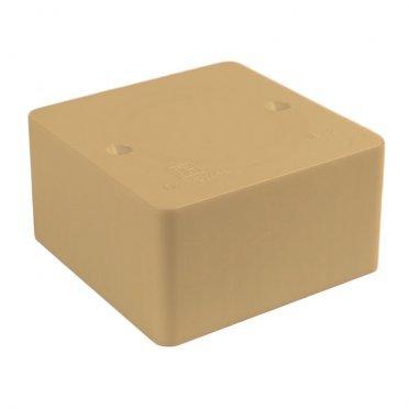 Коробка распределительная Промрукав для кабель-каналов 80х80х40 мм сосна IP42 универсальная безгалогенная