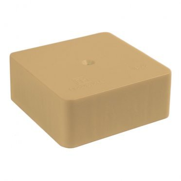 Коробка распределительная Промрукав для кабель-каналов 70х70х25 мм сосна IP42 универсальная безгалогенная