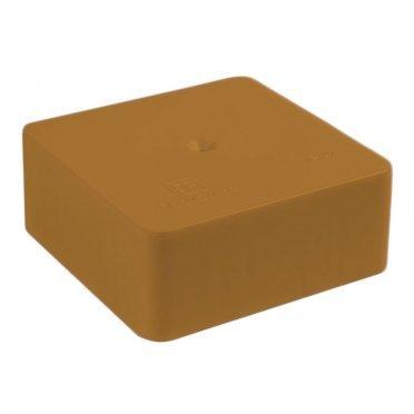 Коробка распределительная Промрукав для кабель-каналов 70х70х25 мм бук IP42 универсальная безгалогенная