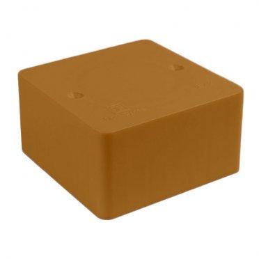 Коробка распределительная Промрукав для кабель-каналов 80х80х40 мм бук IP42 универсальная безгалогенная
