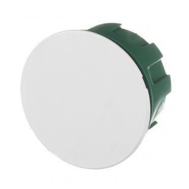 Коробка распределительная Schneider Electric для скрытой установки в бетон d77x41 мм 8 вводов зеленая IP30 с крышкой