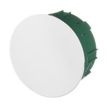 Коробка распределительная Schneider Electric для скрытой установки в бетон d100х51 мм 12 вводов зеленая IP30 с крышкой