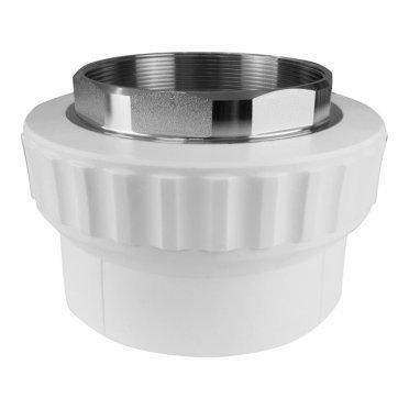 Муфта полипропиленовая под ключ 40 мм х 1 1/4 ВР(г)