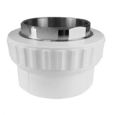 Муфта полипропиленовая под ключ 50 мм х 1 1/2 ВР(г)