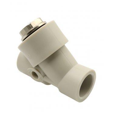 Фильтр полипропиленовый FV-PLAST (308021) косой 20 мм В/В сетчатый