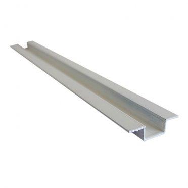 Омега-профиль алюминиевый 3м 1 мм белый RAL 9010