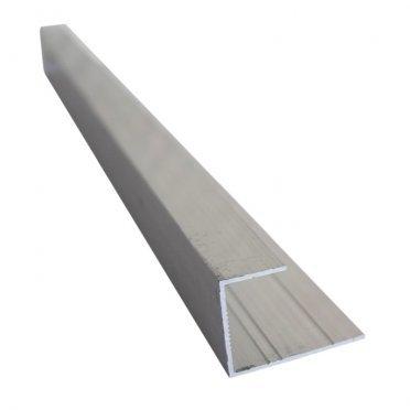L-профиль (12 мм) алюминиевый 3м 1 мм