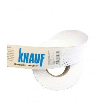 Лента бумажная Knauf для швов гипсокартона 52 мм 150 м