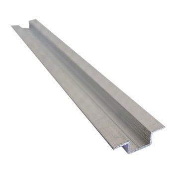 Омега-профиль алюминиевый 3м 1 мм
