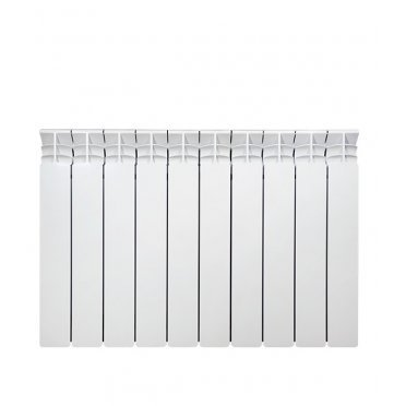 """Радиатор алюминиевый Fondital ARDENTE C2 500 мм 10 секций 1"""" боковое подключение белый"""