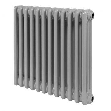 """Радиатор стальной трубчатый Irsap TESI 3 567х450 мм 3/4"""" 12 секций боковое подключение серый"""