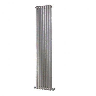 """Радиатор стальной трубчатый Irsap TESI 2 1800х360 мм 3/4"""" 8 секций боковое подключение серый"""