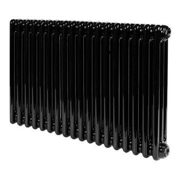 """Радиатор стальной трубчатый Irsap TESI 3 567х736 мм 3/4"""" 18 секций боковое подключение черный"""