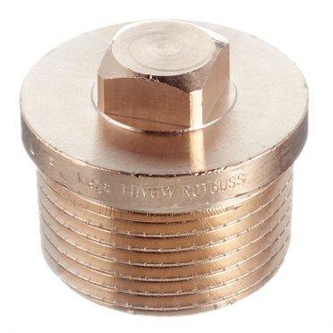 Заглушка Viega (320294) 1 НР(ш) бронзовая