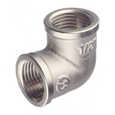 Угол Stout (SFT-0014-000012) 1/2 ВР(г) х 1/2 ВР(г) латунный