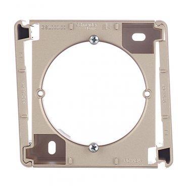 Коробка наружного монтажа Schneider Electric Glossa GSL000400 титан