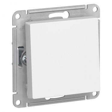 Переключатель Schneider Electric Atlas Design ATN000171 одноклавишный перекрестный скрытая установка белый