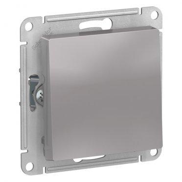 Переключатель Schneider Electric Atlas Design ATN000371 одноклавишный перекрестный скрытая установка алюминий