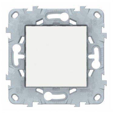 Заглушка Schneider Electric Unica NEW NU586618 скрытая установка белая 45x45 мм