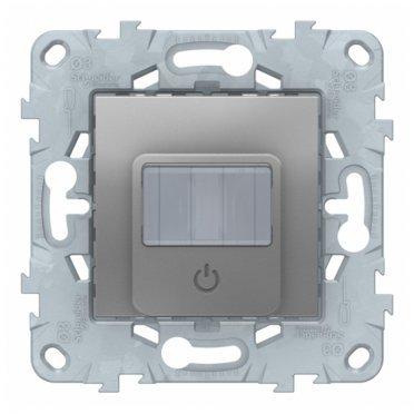 Датчик движения Schneider Electric Unica NEW NU552530 скрытая установка алюминий