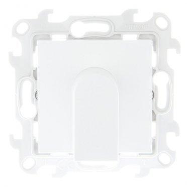 Кабельный вывод Simon 24 Harmonie 2410801-030 скрытая установка белый