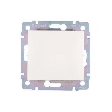 Переключатель Legrand Valena 694263 одноклавишный перекрестный скрытая установка белый