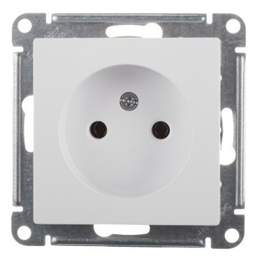 Розетка Schneider Electric Atlas Design ATN000141 скрытая установка белая без заземления