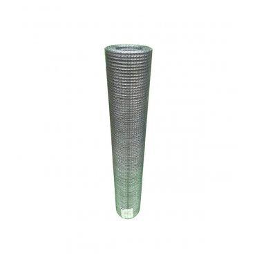 Сетка штукатурная сварная оцинкованная 10х10 мм d0,6 мм 1х15 м рулон