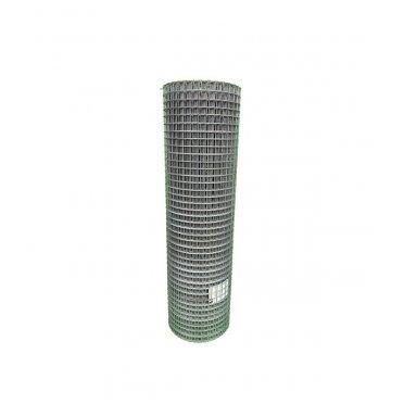 Сетка штукатурная сварная оцинкованная 25х25 мм d1,4 мм 1х25 м рулон