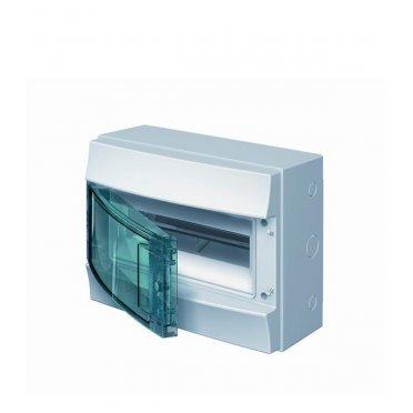 Щит распределительный навесной ABB Mistral65 пластиковый IP65 255х320х155 мм 12 модулей с клеммами