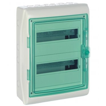 Щит распределительный навесной Schneider Electric Kaedra пластиковый IP65 460х340х160 мм 24 модуля прозрачная дверь