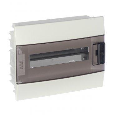 Щит распределительный встраиваемый ABB Mistral41 пластиковый IP41 250х320х107 мм 12 модулей