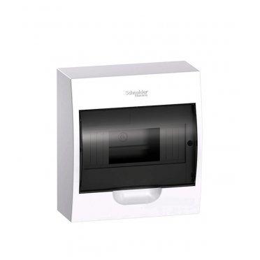 Щит распределительный навесной Schneider Electric Easy9 пластиковый IP40 200х184х94 мм 8 модулей прозрачная дверь