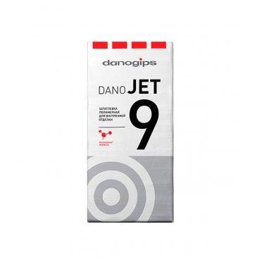 Шпаклевка полимерная Danogips Dano Jet 9 выравнивающая 20 кг