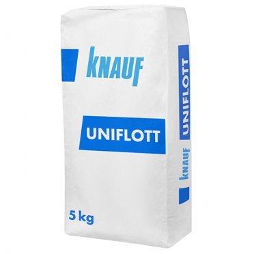 Шпаклевка гипсовая Knauf Унифлот высокопрочная 5 кг