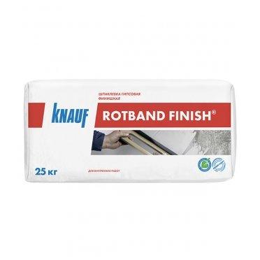 Шпаклевка гипсовая Knauf Ротбанд Финиш 25 кг