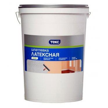 Шпатлевка Текс Профи латексная 30 кг