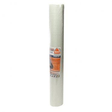Сетка стеклотканевая фасадная панцирная ячейка 8,5х8,5 мм 320 г/м2 рулон 1х25 м ГОСТ
