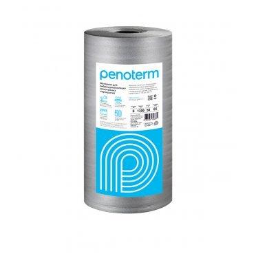 Виброшумоизоляция для междуэтажных перекрытий Penoterm НПП ЛЭ 6 мм 1,3х20 м